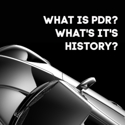 Paintless dent repair (PDR) introduction and a little history on how it came to the USA.